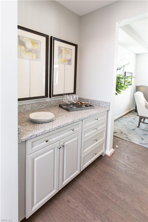 Butlers pantry connecting your kitchen and dining room!