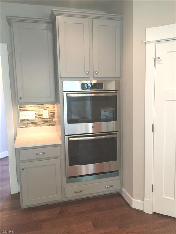 Double ovens!