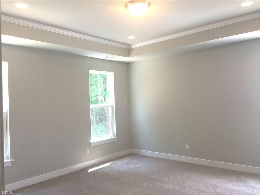 Master bedroom with 2 walk in closets!
