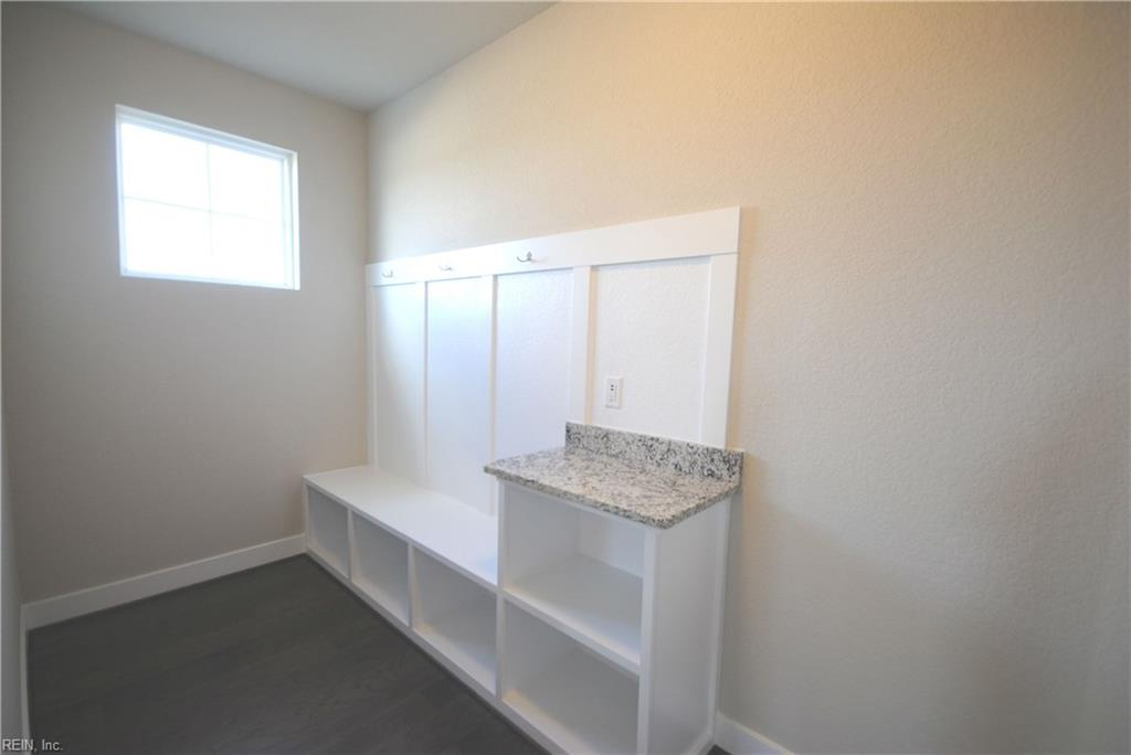 Spacious Mudroom with Built-In