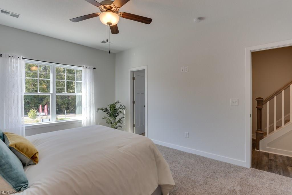 Master Bedroom. Photo shown similar to home built