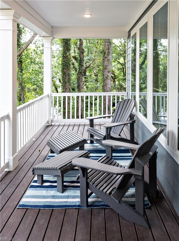 Enjoy morning coffee on this tranquil Balcony off master bedroom overlooking lake