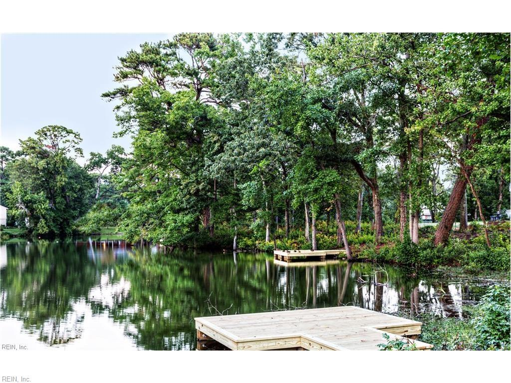 Lake front lots feature their own private docks!