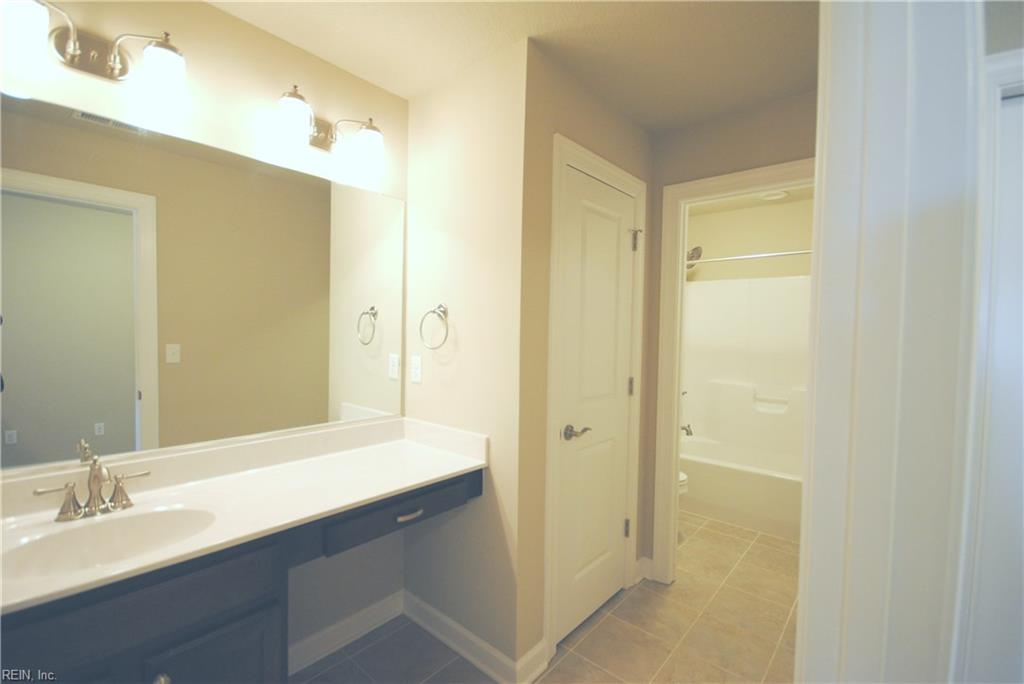 Upgrade to add a 2nd floor two room bath.  -  Similar Photo