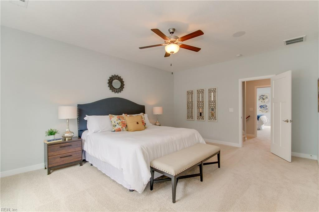 Master bedroom 2. Photo shown similar to home being built