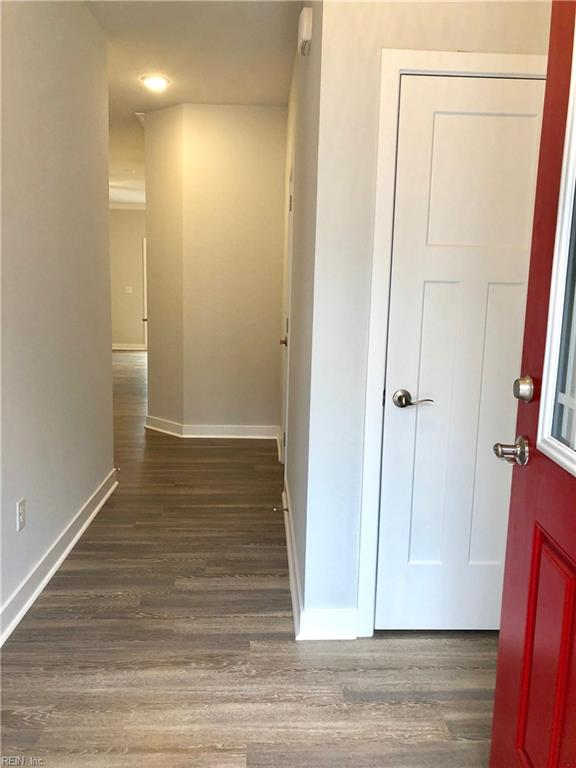Foyer entrance. Photo shown similar to home being built