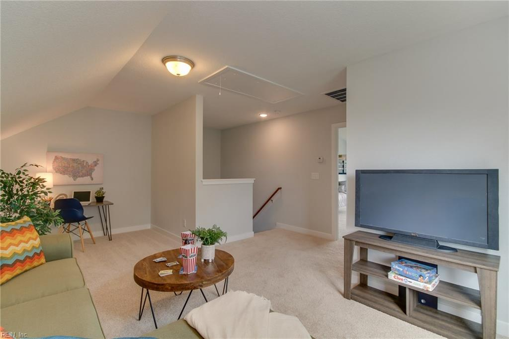 Another view of the loft area.  Photo shown similar to home being built